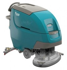 Tennant T500 Walk Behind Battery Powered Floor Scrubber Lifetime Equipment Refurbished